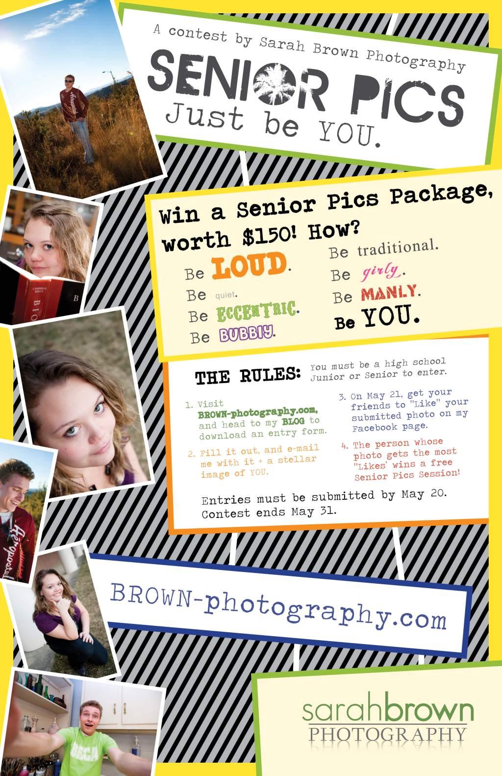 Senior Pics Contest2011