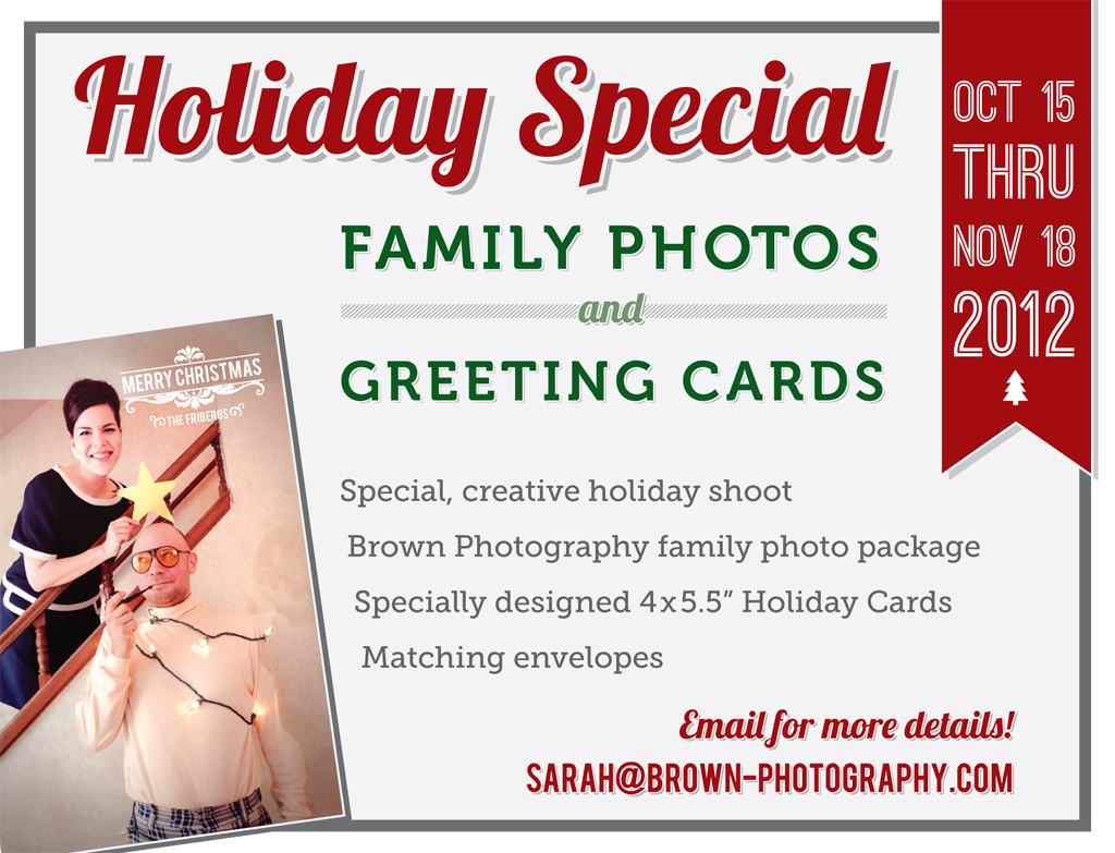 Holiday Special | FamilyPhotos & Greeting Cards